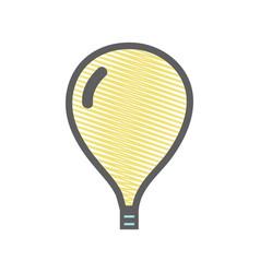 yellow light bulb creative idea vector image
