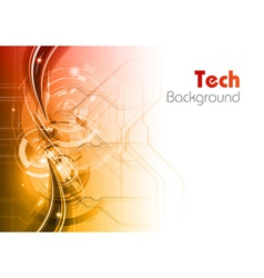 Background line wave light tech vector