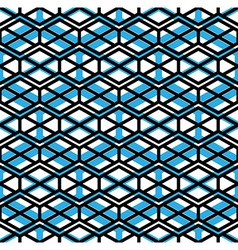 Bright symmetric seamless unusual pattern with vector image