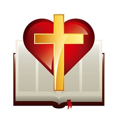 Catholic symbol vector
