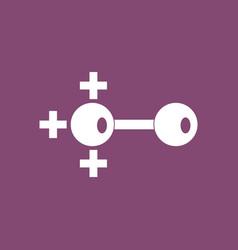 Icon molecules and positive pole vector