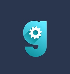 Letter G technology logo icon design template vector image vector image