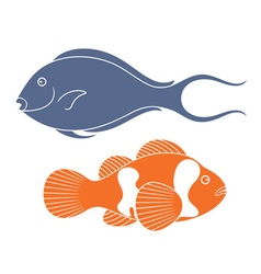 Reef fish vector