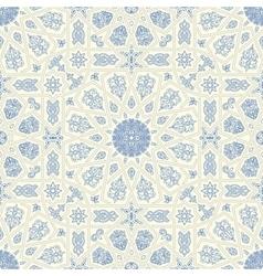 Seamless islamic moroccan pattern arabic vector
