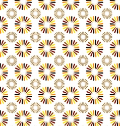 Turkey feathers or flowers vector