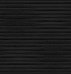 Textured black plastic lines with thickening vector