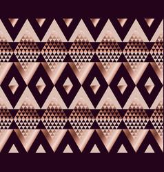 tribal traditional repeatable motif in art deco vector image vector image