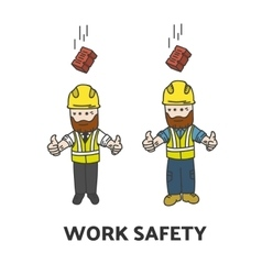 Work safety vector