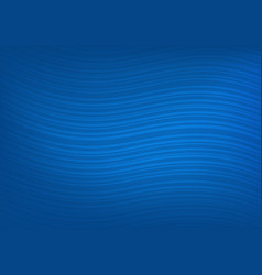 Abstract dark blue background with curved lines vector