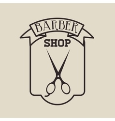 Barber shop design vector