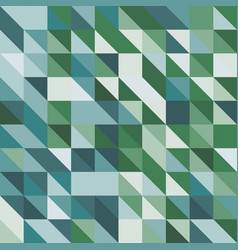 Abstract background with green tone triangles vector