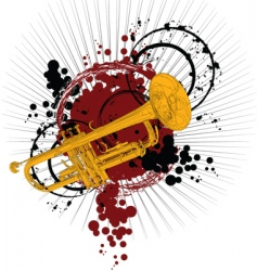 tube music vector image