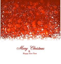 Christmas red abstract background vector