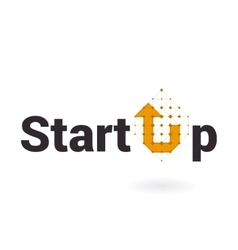 Start up logo business smart concept vector