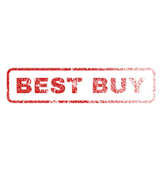 best buy rubber stamp vector image vector image