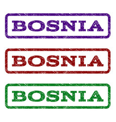 Bosnia watermark stamp vector