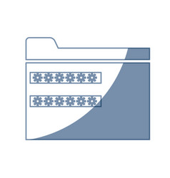 Password security system file access vector