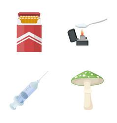 Cigarettes a syringe a galoyucinogenic fungus vector