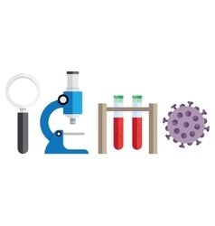 medical research background vector image