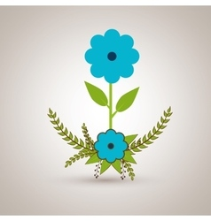Beatiful flower design vector