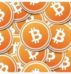 Bitcoin money vector