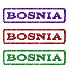 Bosnia watermark stamp vector