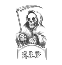 Death with a Scythe vector image