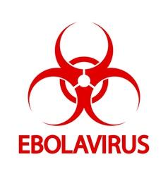 Ebola stamp vector image