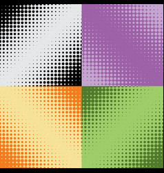 Halftone texture seamless pattern raster effects vector