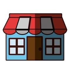 Store facade icon image vector