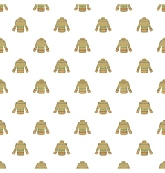 Sweater pattern cartoon style vector
