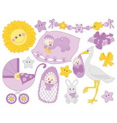 Baby Set vector image