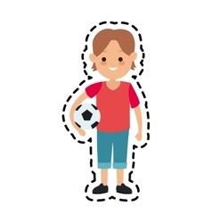 Kid cartoon icon vector