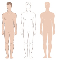 Man figure vector