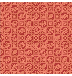 Seamless pattern indian ornament vector