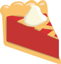 Pie slice vector