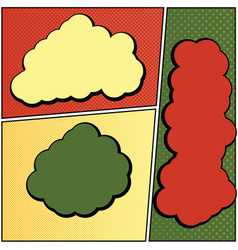 cartoon comic 7 vector image