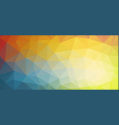 horizontal bright color background vector image vector image