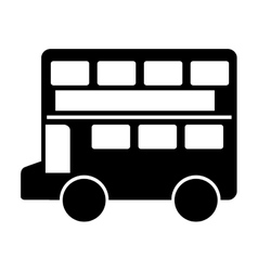 London bus classic icon vector