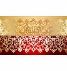 Decorative lace background vector