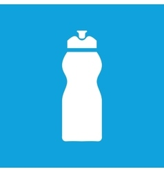 Sport bottle icon simple vector