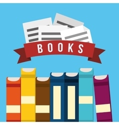 Books design vector