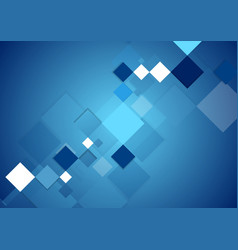 Blue abstract tech geometric digital background vector