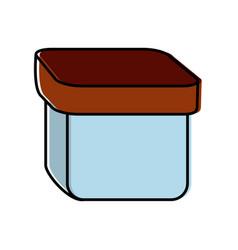 Box icon image vector
