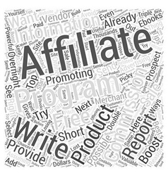 Top ways to boost your affiliate commissions vector