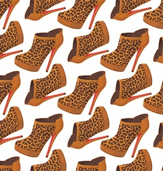 High-heel pattern vector