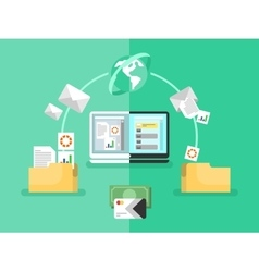 Electronic document management vector
