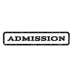 Admission watermark stamp vector
