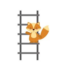 Animal skunk cartoon vector