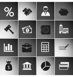 Business Icons Set Vol 2 vector image vector image